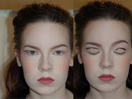 hooded eyes makeup via