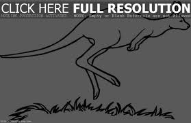 Kangaroo Coloring Pages | Clipart Panda - Free Clipart Images