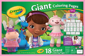 Small Picture Giant Coloring Pages Doc McStuffins Crayola