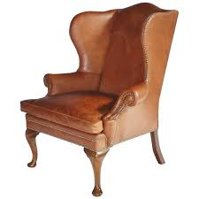 new leather wingback chairs throughout ralph lauren chair for at 1stdibs plans 12