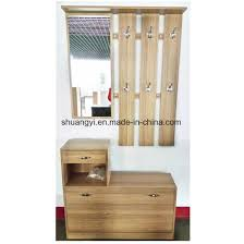 Coat Rack Cabinet Awesome China Hallway Entryway Wooden Mirror Hall Shoe Cabinet With Coat