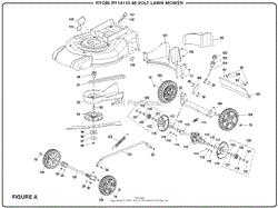 homelite ry14110 48 volt lawn mower parts diagram for wiring diagram figure a part 2
