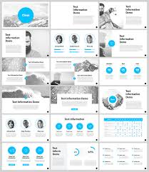 creative powerpoint templates free clean powerpoint template for designers with 18 slides