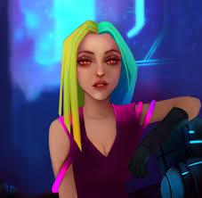 ArtStation - Sci fi Girl, Ivan Alvarez