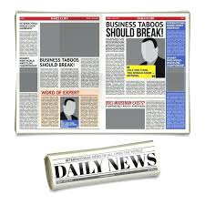 School Newspaper Layout Template Newspapers Template Free Newspaper Pack For Word Perfect School