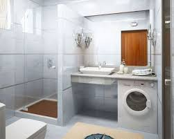 Decoration In Bathroom Drop Dead Gorgeous Image Of Modern White Small Bathroom Decoration