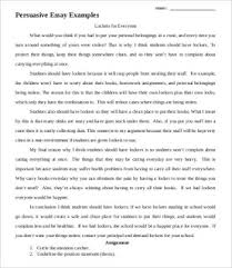 9 Persuasive Essay Templates Demo Works