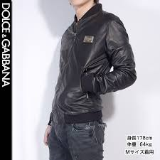 dolce and gabbana dolce gabbana men leatherette jacket g9k50l fulm2 n0000 black black