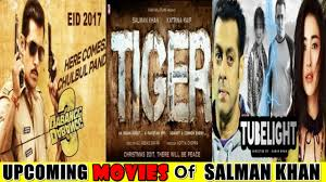 Salman Khan Upcoming Movies 2017, 2018 & 2019 | Latest Movies of ...