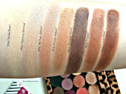 foiled eyeshadows over fall makeup geek neutral eyeshadows makeup geek matte eye shadow swatches makeup geek fall 2016