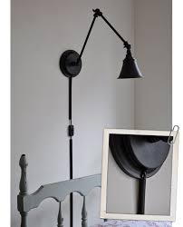 wall lights desk lamp plug in wall sconce