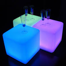 mood lighting ideas. mood lighting idea with colorful cube led coffe tables ideas