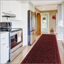 Kitchen Floor Runner Kitchen Rug Runner Red Rugs Home Decorating Ideas Hash