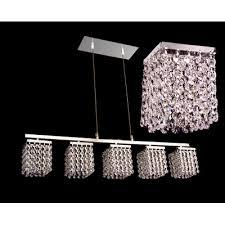 bedazzle 5 light linear chandelier crystal type swarovski elements antique green