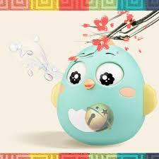 SIÊU BẤT NGỞ Đồ chơi con lật đật trẻ em sơ sinh 3-12 tháng hình gà GIẢM GIÁ
