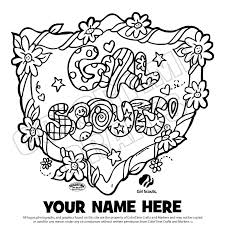 Girl Scout Brownie Coloring Pages At Getdrawingscom Free For