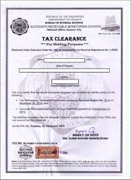 Bir Tax Clearance Corporation Requirements Onestepahead470