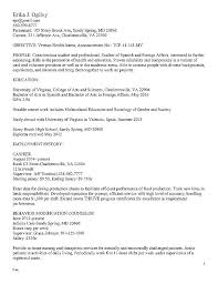 Current College Student Resume Sample Free Resume Templates For