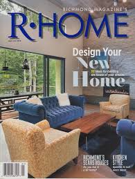 Living Room Shows Classy RHome Magazine Feature