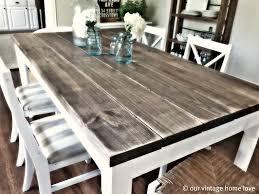 Farmhouse Kitchen Table Set