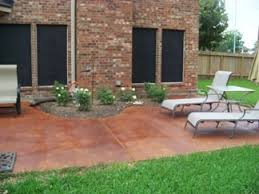 we want to add on the patio but also stain it we would prefer a deck this is cheaper17