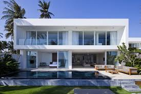 architectural home design. Fine Home White Modern Facade Inside Architectural Home Design