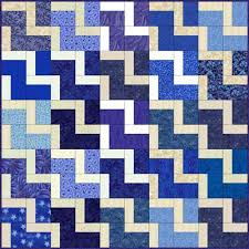 Endless Stairs, an Easy Quilt Block Pattern & Easy Quilt Patterns Adamdwight.com