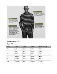 J Crew Size Chart J Crew Size Chart Mens Pizeto