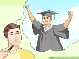 Graduation Speech Template Best Of 3 Ways To Write A Graduation ...