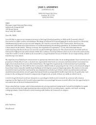 Immigration Paralegal Cover Letter Litigation Paralegal Cover Letter