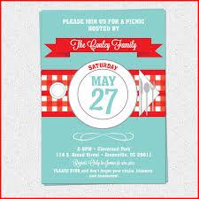 Fresh Picnic Invitation Collection Of Invitation Customize 91469