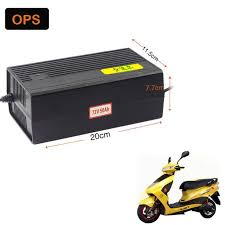 Free Shipping 72V 50AH <b>OPS Lead Acid Battery</b> Charger For ...