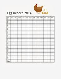 Egg Chart For Keeping Track Of Egg Laying Best Egg Laying