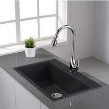 GraniteQuartz Composite  Kitchen Sinks  Kitchen  The Home Depot30 Inch Drop In Kitchen Sink