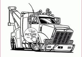 Truck And Trailer Coloring Pages 259582 Unique Camper Trailer