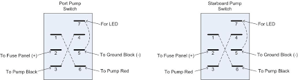 custom centurion falcon ballast electrical note that the dotted lines in the diagram are representing jumper wires between posts for example for the port switch you connect the red wire from the