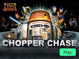 star wars rebels chopper chase disney lol