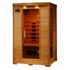 2 person infrared sauna. Plain Infrared Radiant Sauna 2Person Hemlock Infrared With 5 Ceramic Heaters Throughout 2 Person Z