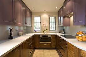 modern shaped kitchen layout