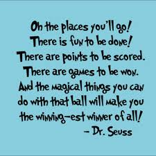Dr Seuss Oh The Places You Ll Go Quotes Delectable Dr Seuss Wall Decal 'Oh The Places You'll From InitialYou