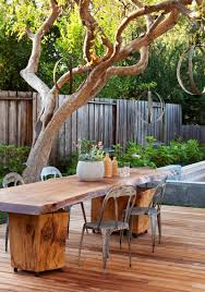 cool outdoor furniture. Cool Outdoor Rustic Table Ideas Best Patio Design Gallery With Images Furniture