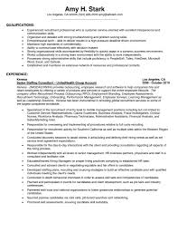 Sample Resume Qualifications For Customer Service New Customer