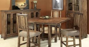 vanity incredible decoration rustic counter height dining table sets with regard to eye catching counter height dining chairs intended for residence