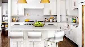 All White Kitchen Designs Custom Decoration