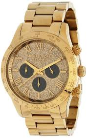 michael kors diamond watches for men best watchess 2017 michael kors layton glitz gold tone chronograph mens watch mk5830