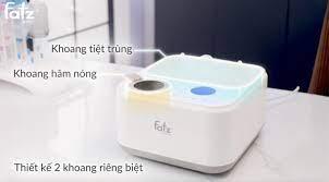 Máy tiệt trùng sấy khô thông minh tích hợp hâm sữa điện tử FATZ BABY  CAPTAIN 1 FB4320SJ
