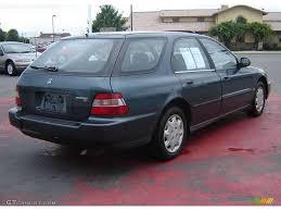1996 Dark Eucalyptus Green Pearl Metallic Honda Accord LX Wagon ...