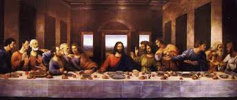 painting of the last supper