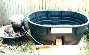 horse trough hot tub bathtub stock tank awesome drain jets bath stock tank