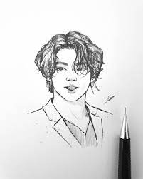 Try also, based on the plot of some famous figures, depict it in your way (for training purposes, of course). Nikki On Instagram H A I R Madein1997 Jk Bts Btsfanart Fanart Jungkook Jungkookfanart Art Drawing Sketch Bts Drawings Drawings Kpop Drawings